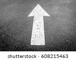 isolated image of black tar... | Shutterstock . vector #608215463