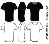 t shirt | Shutterstock .eps vector #608223524