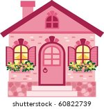 house   Shutterstock .eps vector #60822739