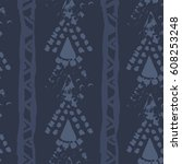 abstract simple vector ethnic...   Shutterstock .eps vector #608253248
