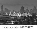 thailand  bangkok  wat phra... | Shutterstock . vector #608253770
