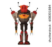 robot | Shutterstock .eps vector #608301884
