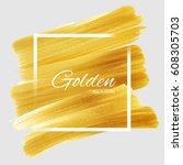 illustration of shiny glamorous ... | Shutterstock .eps vector #608305703