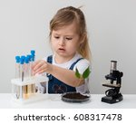 e learning. stem education.... | Shutterstock . vector #608317478