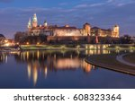 Krakow  Poland  Wawel Castle...