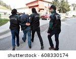 istanbul  turkey   february  15 ... | Shutterstock . vector #608330174