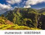 ethiopia. simien mountains... | Shutterstock . vector #608358464
