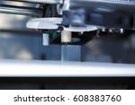 3d printer working and printing ...   Shutterstock . vector #608383760