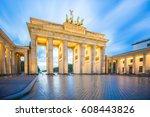 Brandenburg Gate In Berlin Cit...