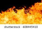 blaze fire flame texture...   Shutterstock . vector #608445410