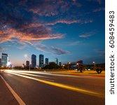 urban roads in the city | Shutterstock . vector #608459483