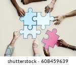togetherness connection... | Shutterstock . vector #608459639