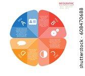 vector circle arrows... | Shutterstock .eps vector #608470688