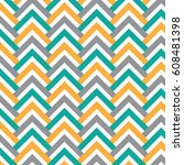 chevrons and triangle slab... | Shutterstock .eps vector #608481398