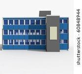 3d house isolated on white... | Shutterstock . vector #60848944
