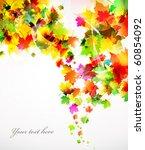 colorful autumn design   Shutterstock .eps vector #60854092
