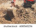 The Excavator Is Working...