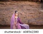 persia or iran women's in...   Shutterstock . vector #608562380