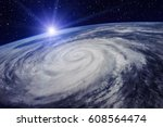 Giant Cyclone On The Planet...