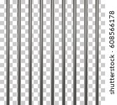 prison bars isolated on... | Shutterstock .eps vector #608566178