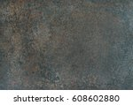 copper colored natural stone... | Shutterstock . vector #608602880
