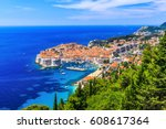 Dubrovnik  Croatia. Panoramic...