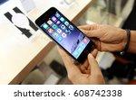 russia  moscow  september 2014  ...   Shutterstock . vector #608742338