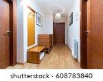 apartment entrance | Shutterstock . vector #608783840
