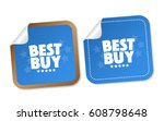 best buy stickers | Shutterstock .eps vector #608798648