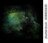 splattered white grungy... | Shutterstock .eps vector #608803640