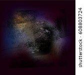 splattered white grungy... | Shutterstock .eps vector #608803724
