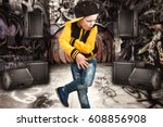the little boy in the style of...   Shutterstock . vector #608856908