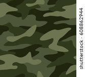 camouflage pattern background... | Shutterstock .eps vector #608862944