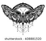 butterflies design | Shutterstock .eps vector #608881520