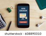 web design concept on smart...