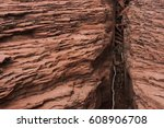 A Crevasse Between Two Section...