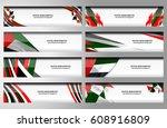 vector illustration of united... | Shutterstock .eps vector #608916809