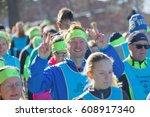 stockholm  sweden   mar 25 ... | Shutterstock . vector #608917340