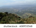 the rift valley of ethiopia in... | Shutterstock . vector #608953568