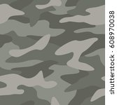 camouflage pattern background... | Shutterstock .eps vector #608970038