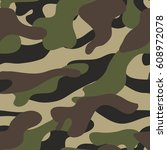 camouflage background seamless. ... | Shutterstock .eps vector #608972078