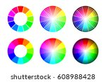 color wheel from 12 color rgb