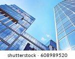 modern office building | Shutterstock . vector #608989520
