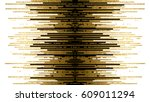 banner with gold texture and... | Shutterstock .eps vector #609011294