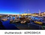 kyrenia  north cyprus   march... | Shutterstock . vector #609038414
