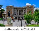 building of museo nacional del...   Shutterstock . vector #609045524