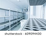 refrigeration chamber for food... | Shutterstock . vector #609094430