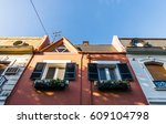 colorful old classic... | Shutterstock . vector #609104798