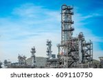 close up industrial zone the... | Shutterstock . vector #609110750