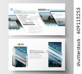 business templates in hd format ... | Shutterstock .eps vector #609115253